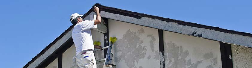 Schilder-, stucwerken en glasherstel